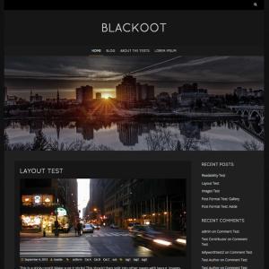 WordPressテーマBlackoot
